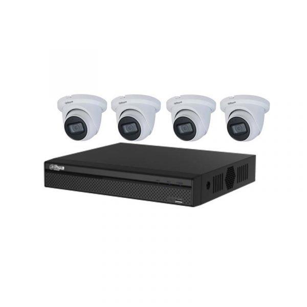 4ch Nvr CCTV Dahua kit
