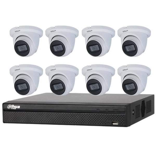 Dahua 8Ch NVR with 4MP CCTV Kit