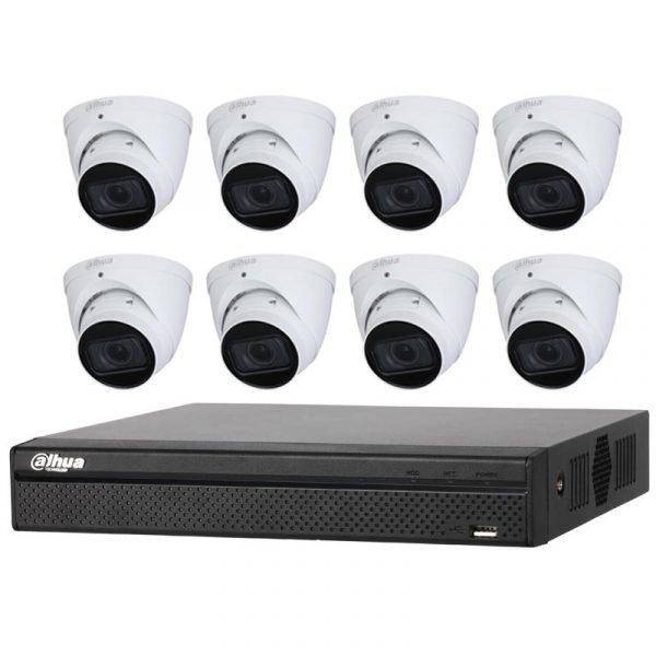 Dahua 8Ch NVR with 4MP CCTV