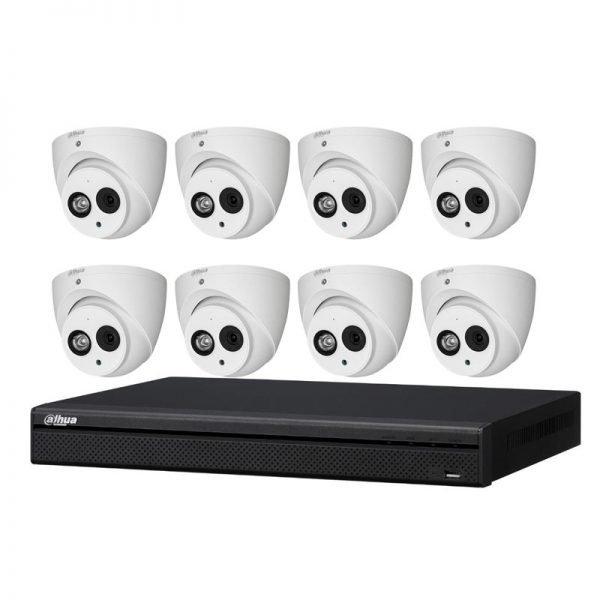 Dahua 8ch nvr for 6mp cameras kit