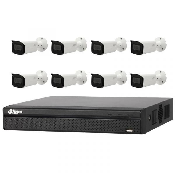 8Ch NVR with Dahua 4MP camera kit