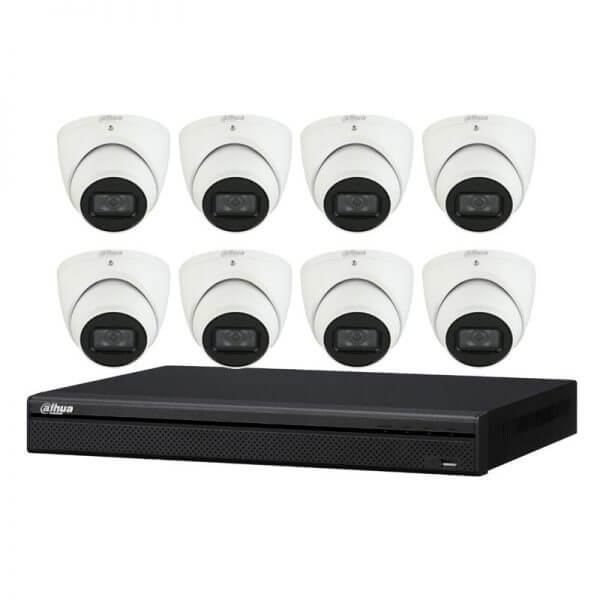 Dahua turret CCTV camera kit