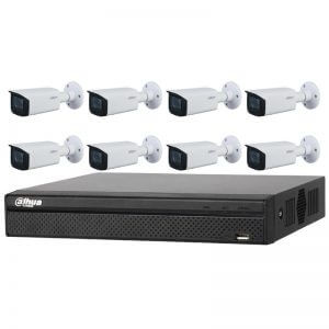 8 Dahua 4MP IR Bullet Motorized (DH-IPC-HFW2431T-ZS-S2) with 8Ch NVR (DHI-NVR4108HS-8P-4KS2) and 2TB HDD