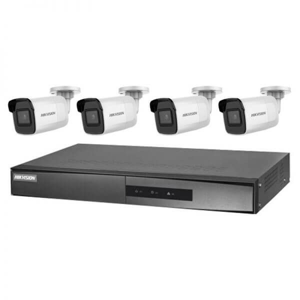 Hikvision 6MP IR Fixed with 4Ch NVR