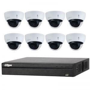 8 Dahua 8MP Lite IR Fixed-focal Dome (DH-IPC-HDBW2831E-S-S2) with 8Ch NVR (DHI-NVR4108HS-8P-4KS2) and 2TB HDD