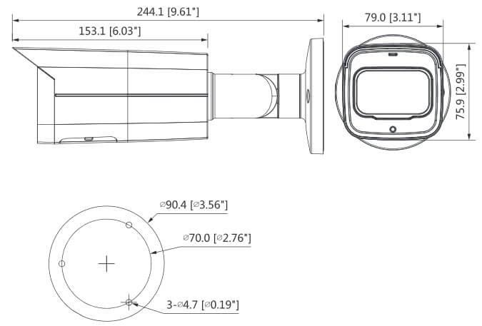Dahua 5MP WDR IR Bullet
