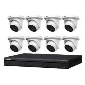 8 Dahua IMOU 6MP CCTV (IPC-T66A) with 8Ch NVR (NVR4104HS-4P-4KS2 ) and 2TB HDD