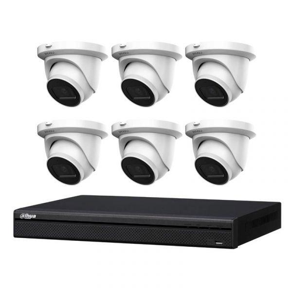 Dahua IMOU 6MP CCTV with 8Ch NVR