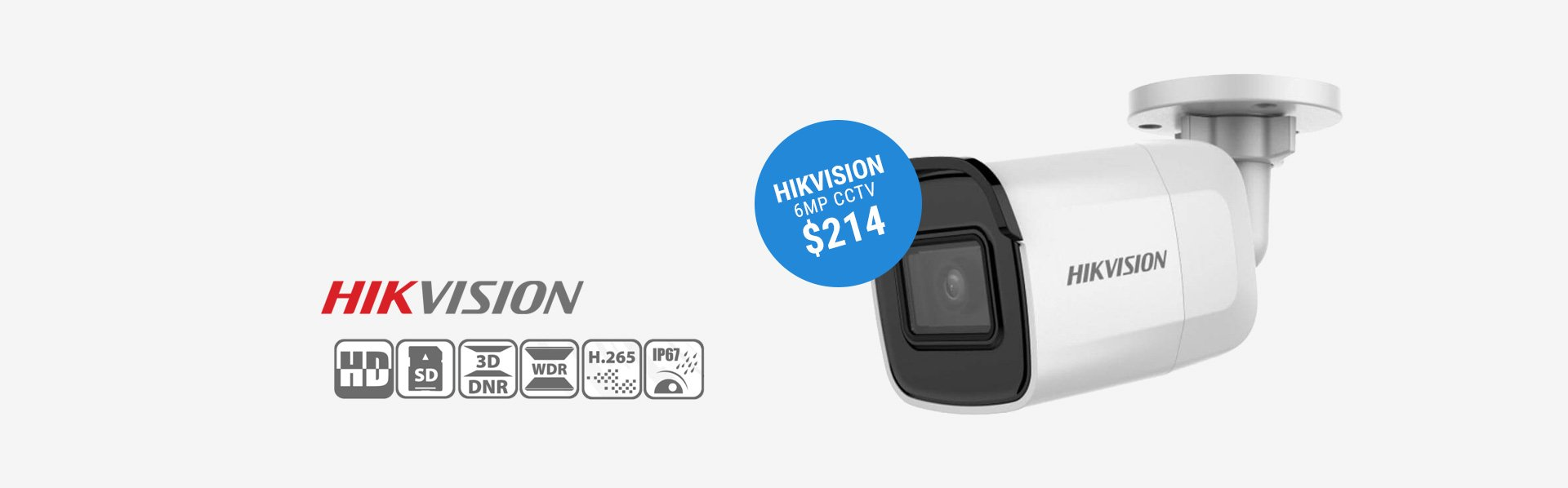 Hikvision 6MP CCTV