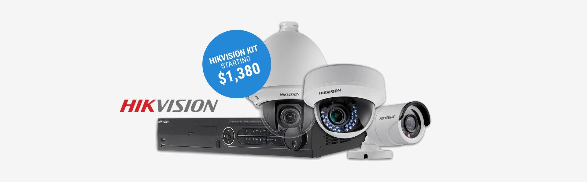 Hikvision CCTV kit